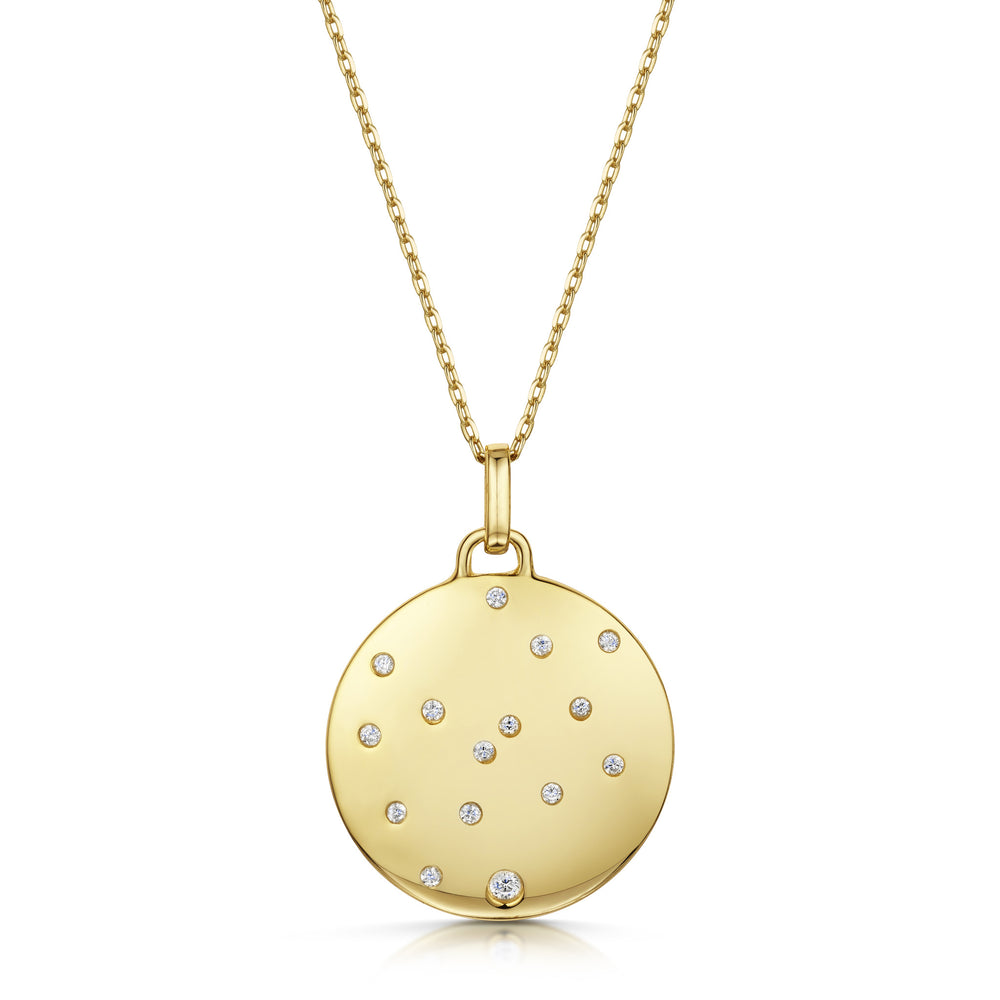 Load image into Gallery viewer, Elizabeth Necklace Set - Yellow Gold/Rhodium