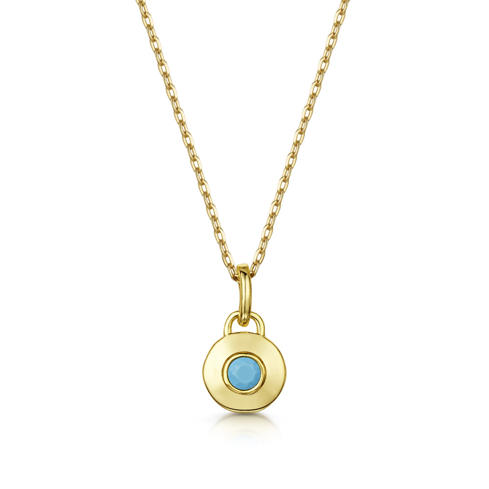 Elizabeth Necklace Set - Yellow Gold/Rhodium