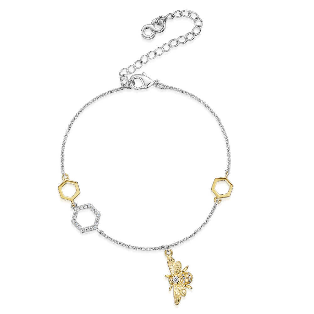 Load image into Gallery viewer, Beatrice Bracelet - Gold/Rhodium