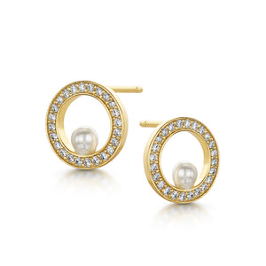 Isla Earrings - Gold