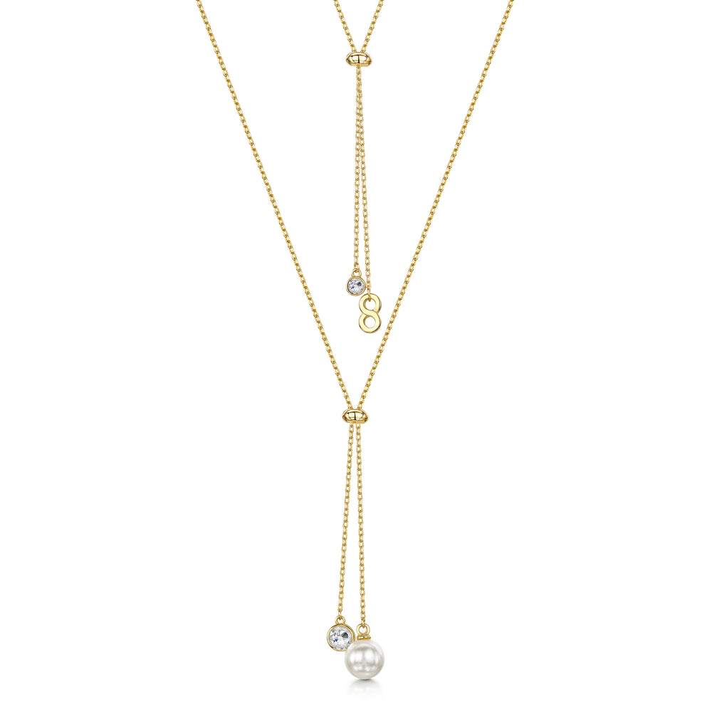 Grace Necklace -Yellow Gold Necklace