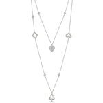 Alice Necklace - Rhodium