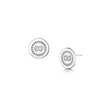 Elizabeth Earrings - Rhodium