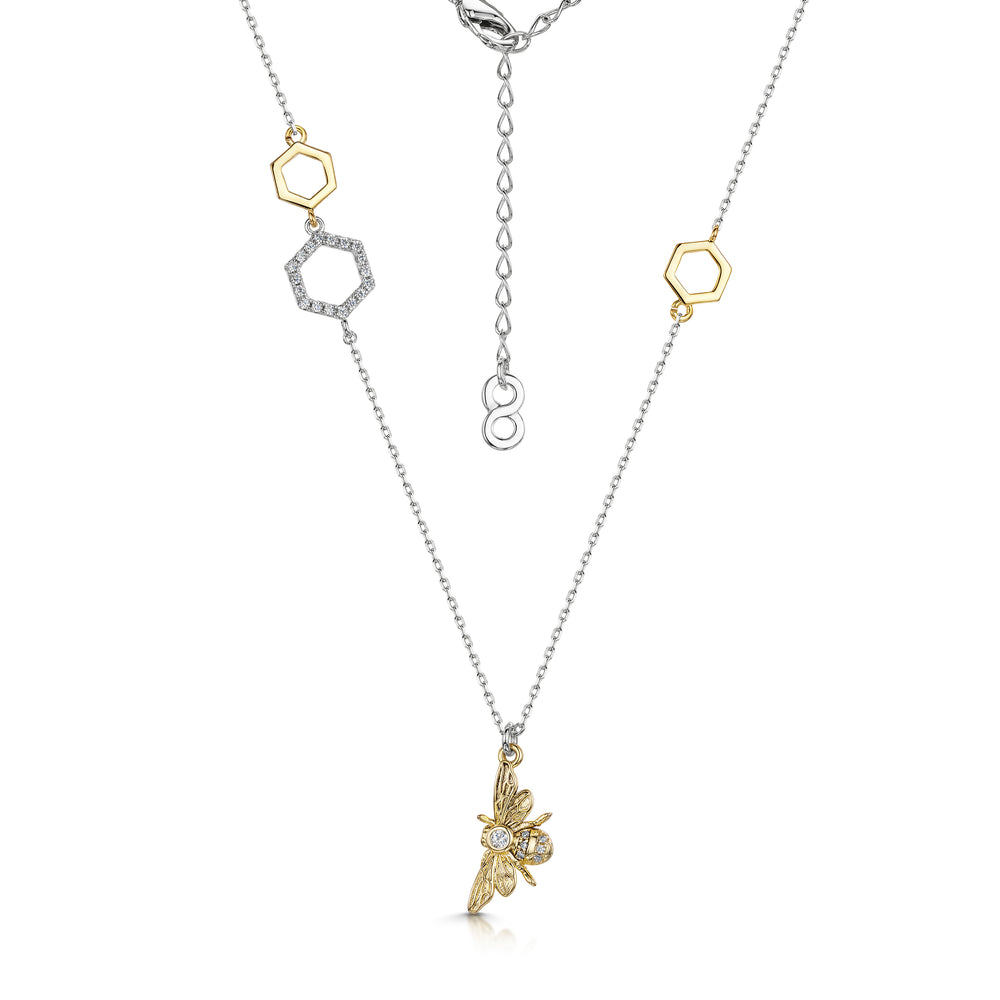 Load image into Gallery viewer, Beatrice Pendant - Gold/Rhodium