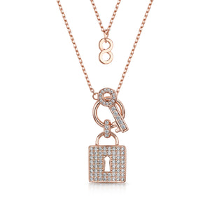 Load image into Gallery viewer, Lola Pendant Rose Gold