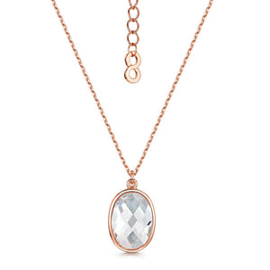 Load image into Gallery viewer, Kathryn rose gold pendant