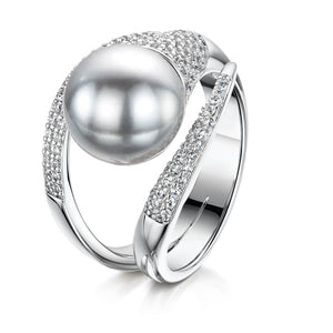 Camilla Ring - Rhodium