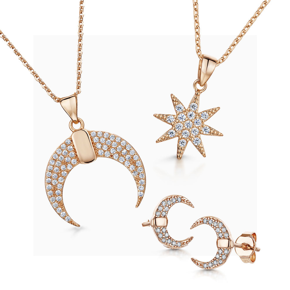 Lily Anne Pendant , Bracelet and Earring Set