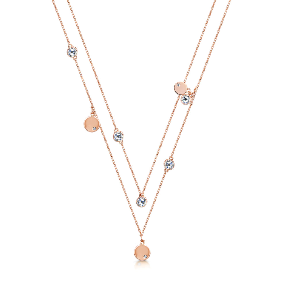 Mia Necklace- Rose Gold