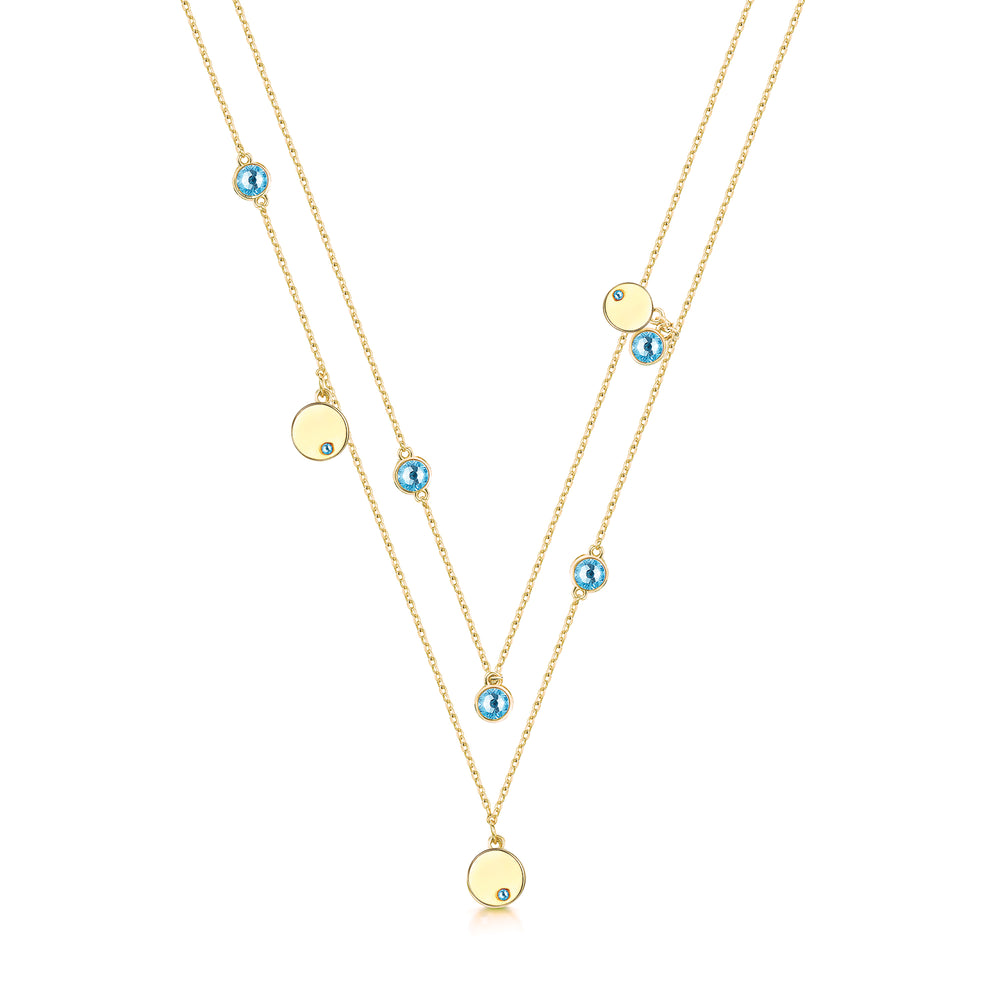 Mia Necklace- Gold