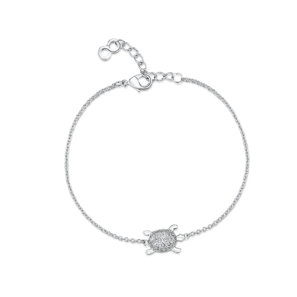 Load image into Gallery viewer, LXI Pave Sea Turtle Bracelet