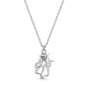 Load image into Gallery viewer, LXI Octopus Pendant- Rhodium