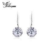 5.2ct Round Cut Earrings 925 Sterling Silver - CIEB MOZ