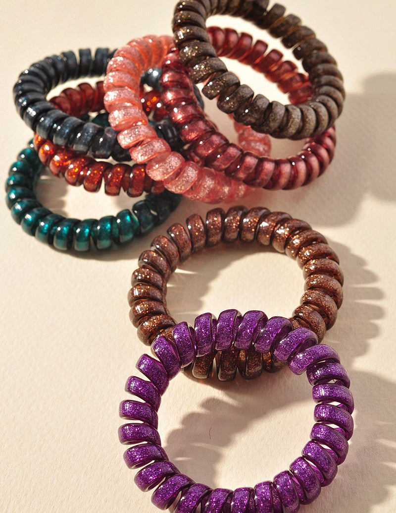Elastic Coil Hair Ties