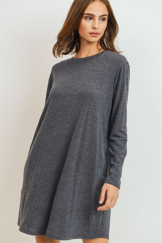 Lexi Long Sleeve T-Shirt Dress