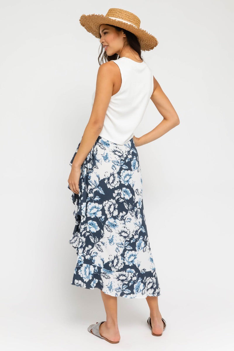 Capri Midi Wrap Skirt