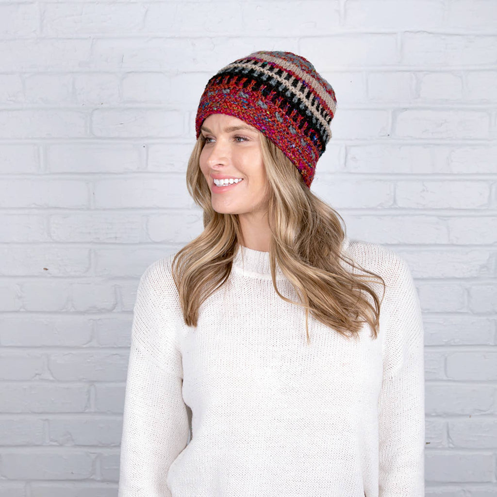 Himalayan Wool Knit Hat