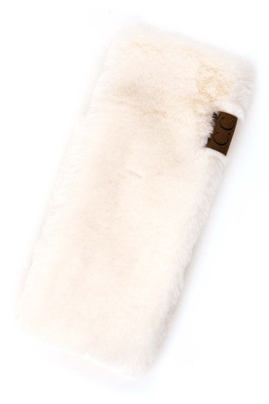 Faux Fur Headwrap