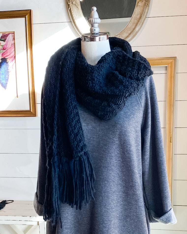 Knit Sweater Scarf