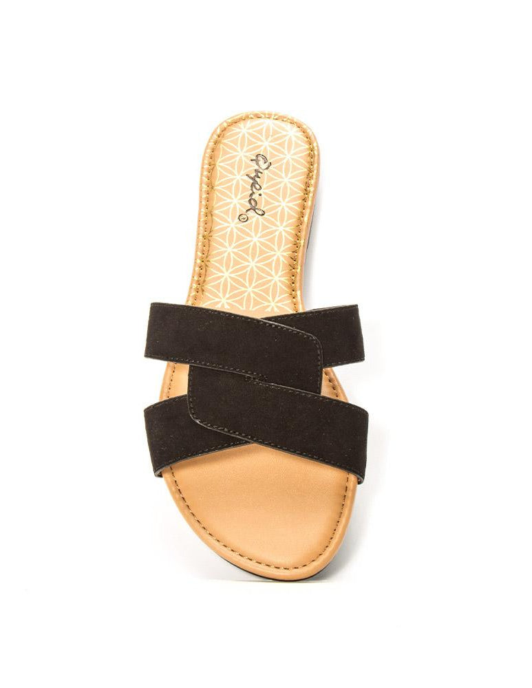 Archer Cross Top Sandals