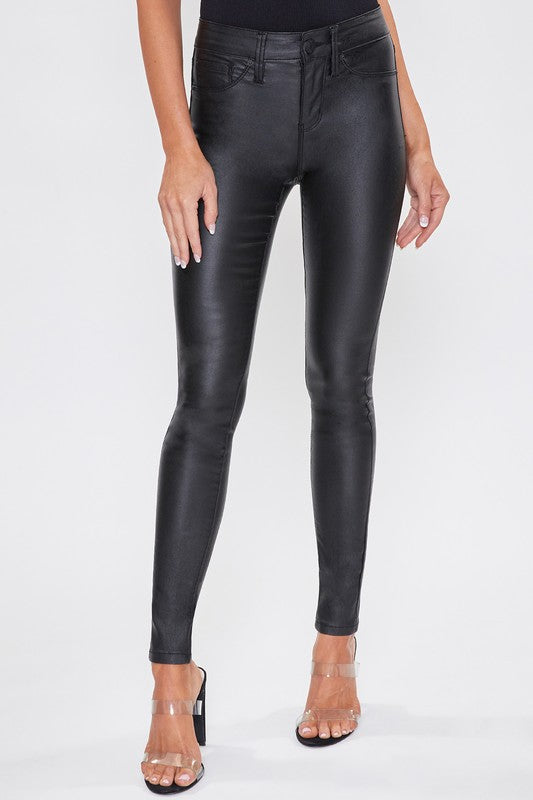 Witney Coated Faux Leather Pants