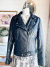 Maddie Vegan Leather Moto Jacket
