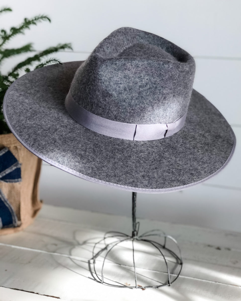 Barry Wide Brim Hat