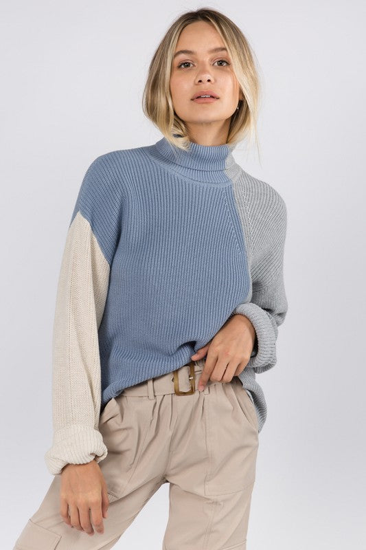 Candice Color Block Sweater