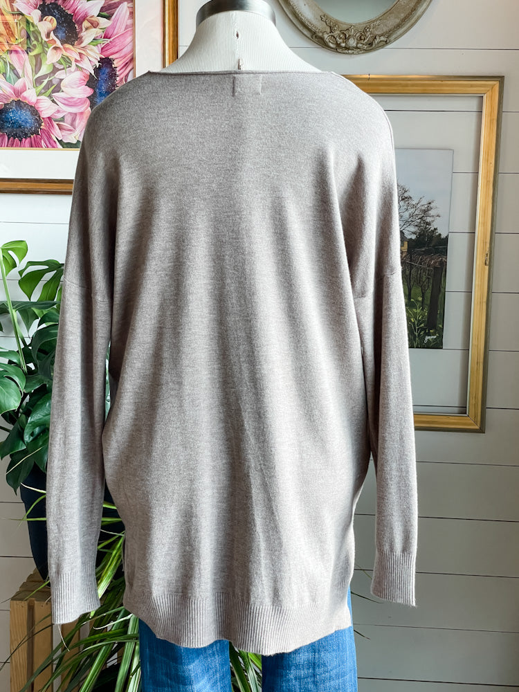 Heather Tunic Sweater