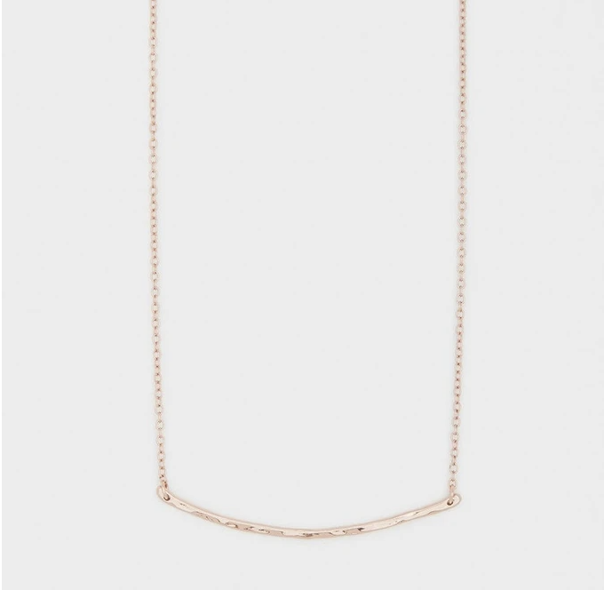 Tanner Bar Necklace