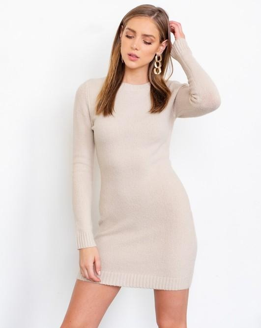 Chandler Bodycon Sweater Dress