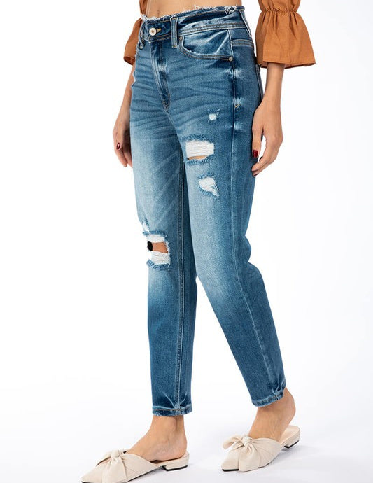 Tanner Distressed Jeans