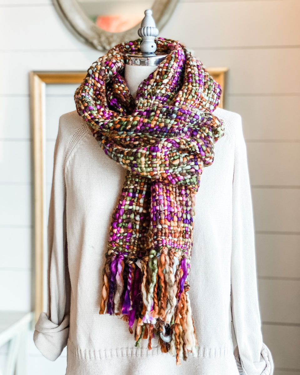 Hand Dyed Knit Stella Scarf
