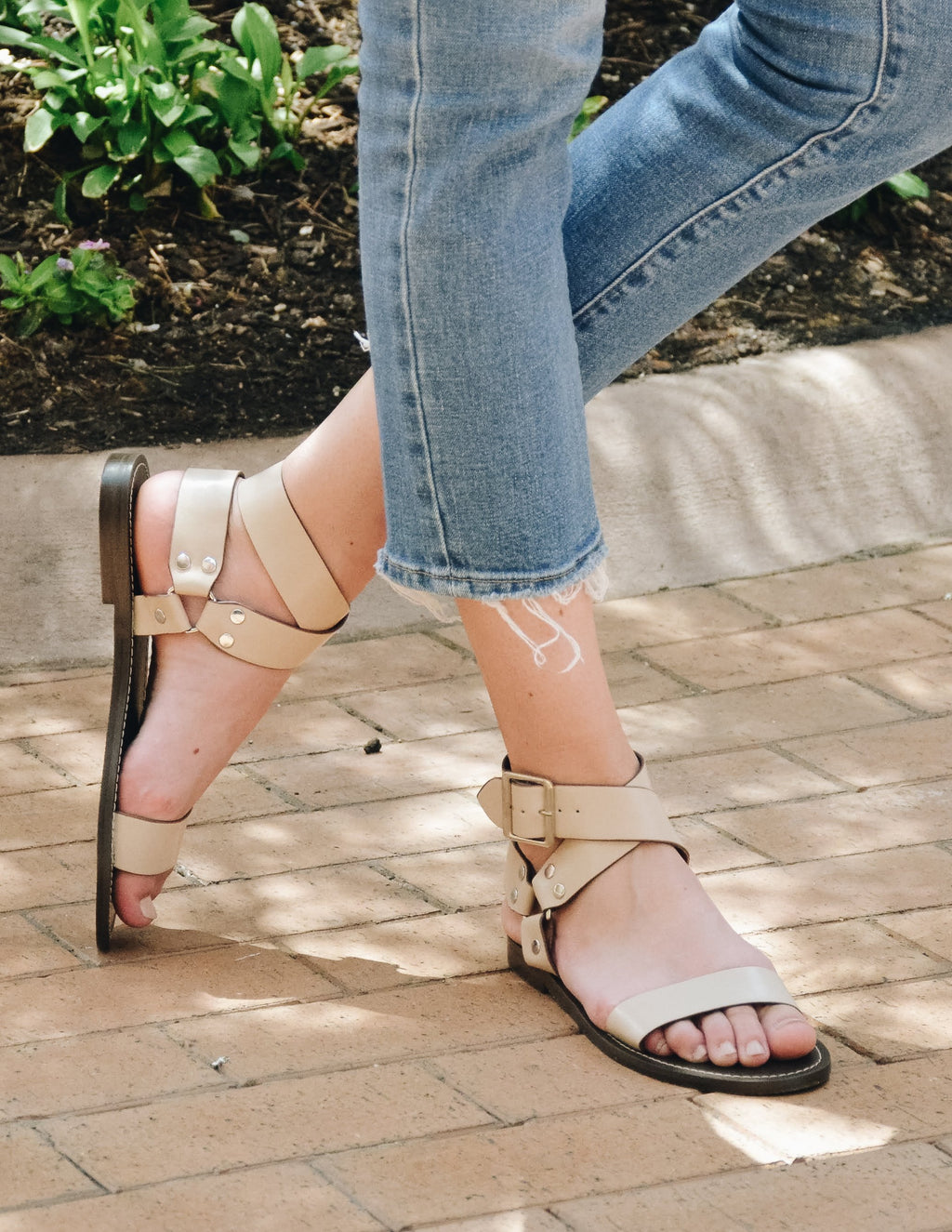 Nora Ankle Wrap Sandal-FINAL SALE