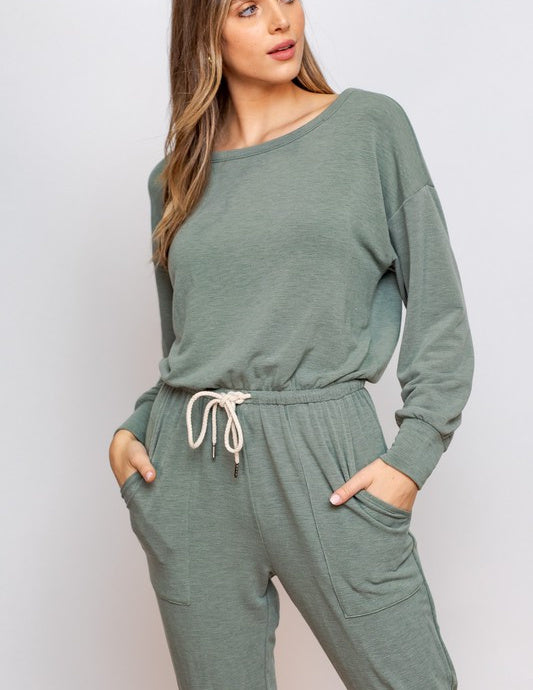 Olivia Long Sleeve Jumpsuit