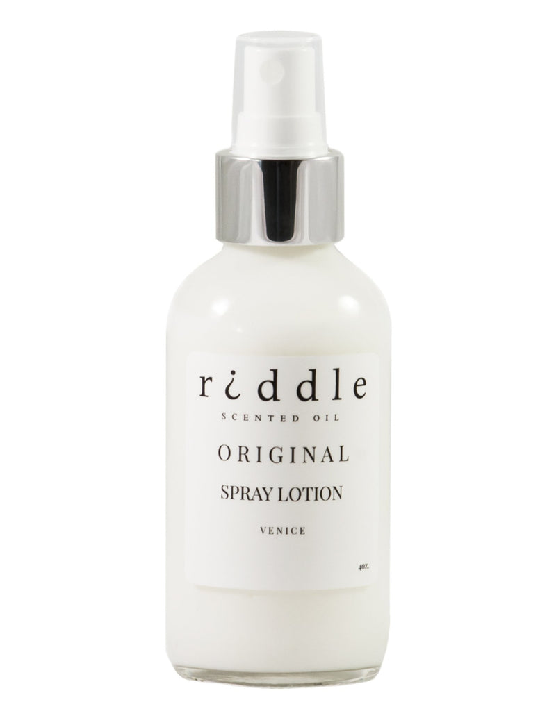 Riddle Oil Spray Lotion