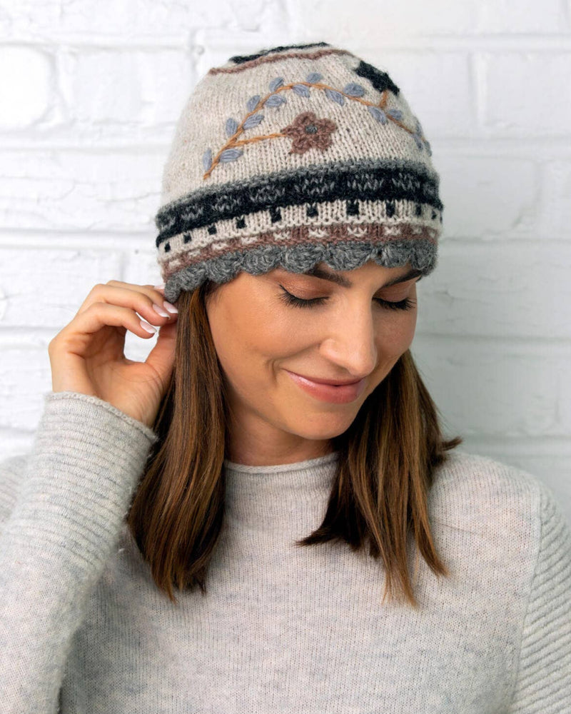 Rosemary Wool Knit Hat