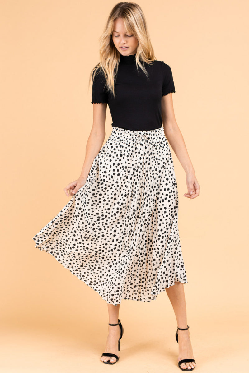 Rylee Cheetah Midi Skirt