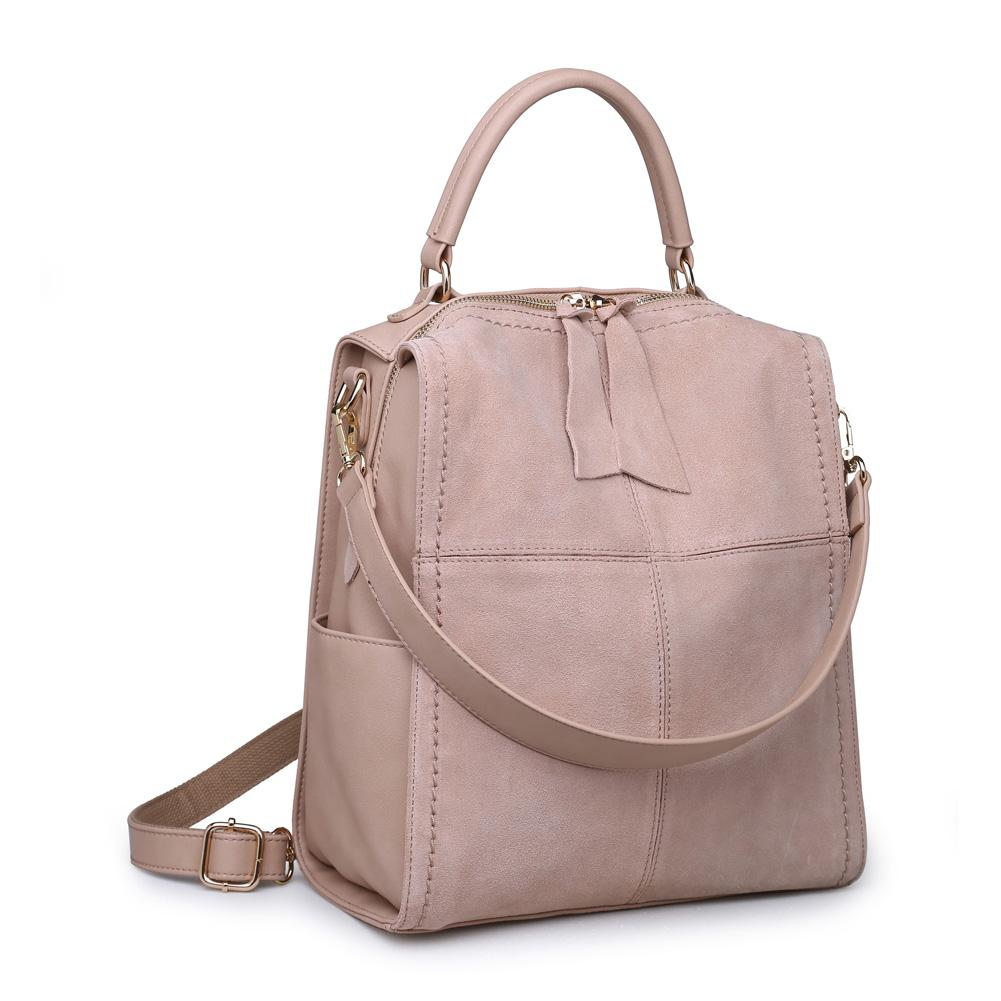 Moda Luxe Brette Backpack, with several straps to convert from backpack to tote bag.