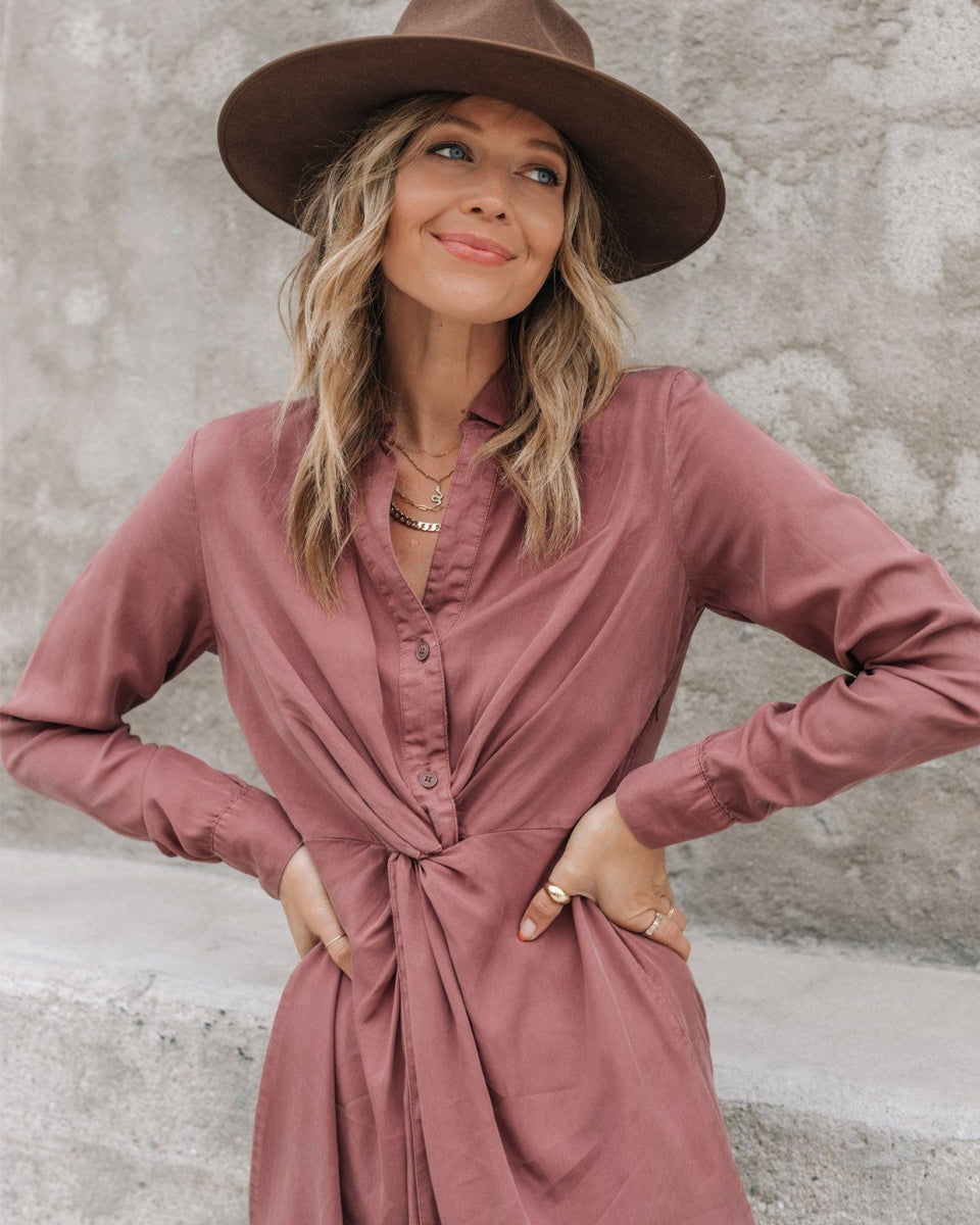 Stevie Shirt Dress