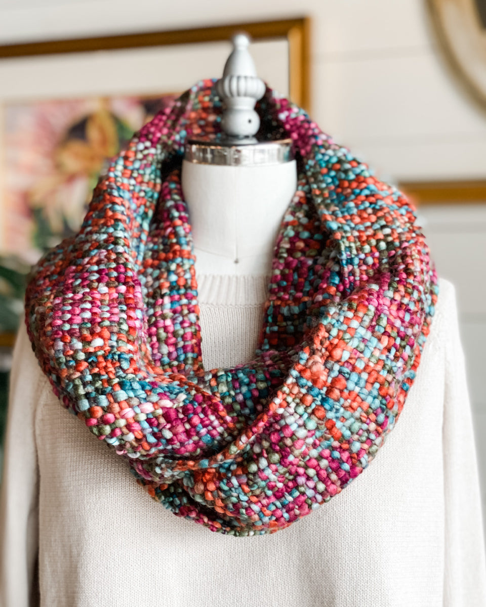 Stella Hand Dyed Infinity Scarf