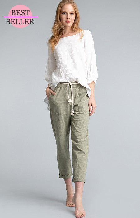 Mila Cropped Pants