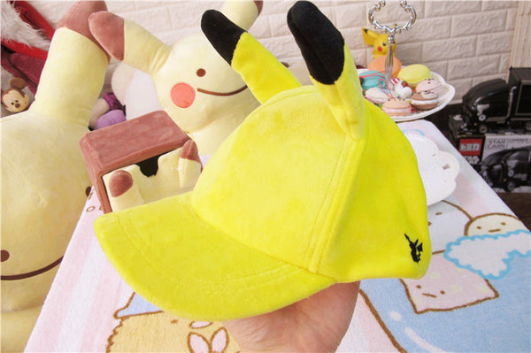 Pikachu Yellow Hat