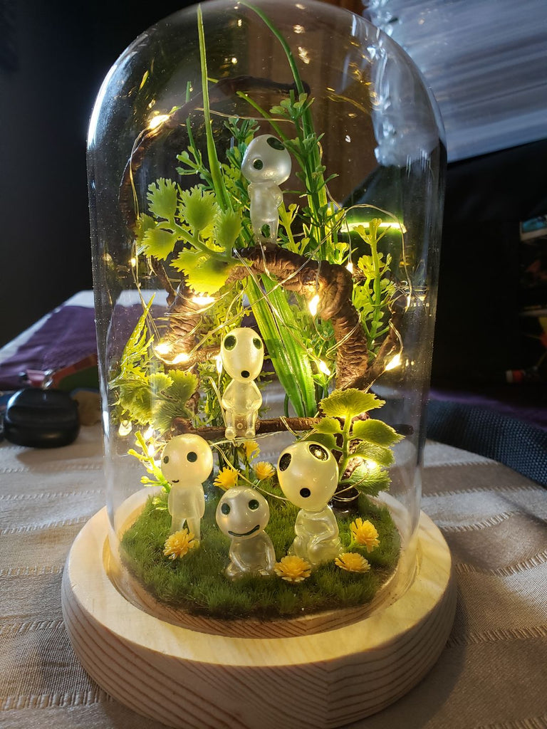 Handmade Night Light Terrarium