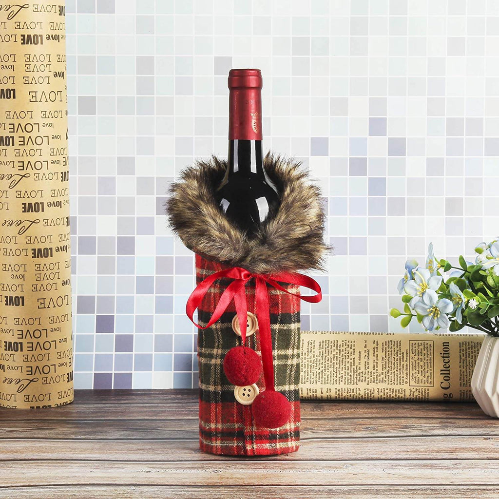 Christmas Sweater Wine Bottle Covers