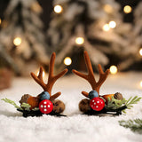 Handmade Christmas Hair Clips