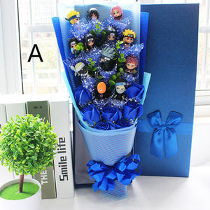 Naruto Bouquet-Graduation,Marriage,Valentine's day Bouquet