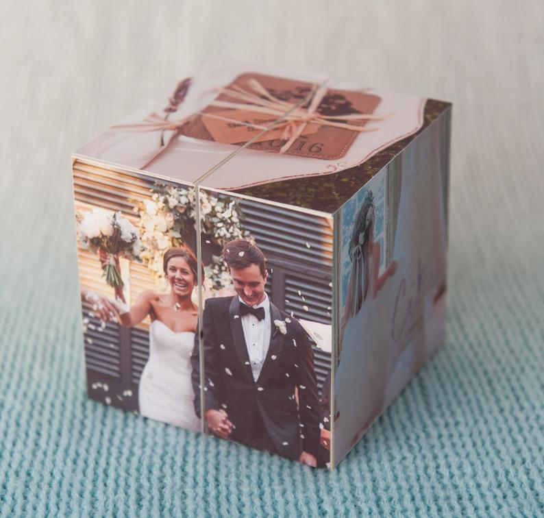 Personalized Memory Photo Cube