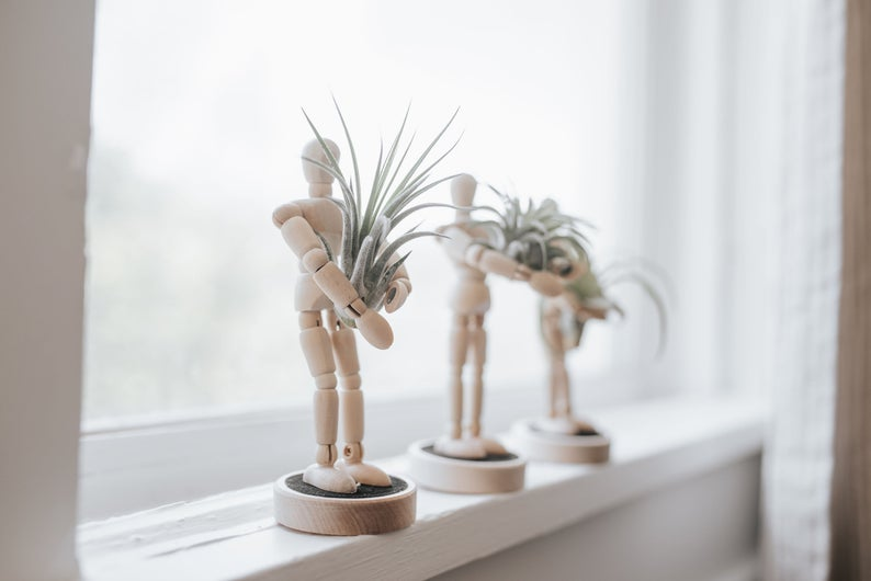 Poseable Air Planter