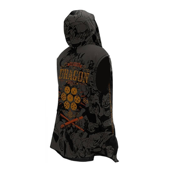 Sleeveless Dragon Ball Hoodie